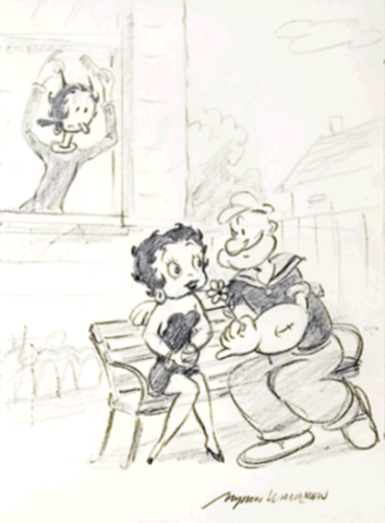 File:Photo by Boopoopadoop Olive Oyl Will Not Harm Betty Boop when she flirts with Popeye.png