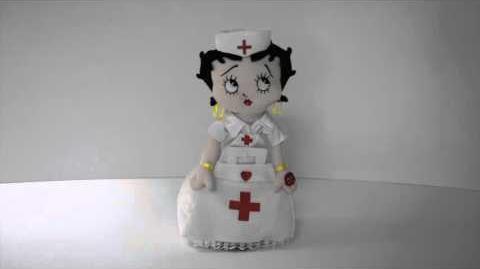 Nurse Betty Boop™ by Chantilly Lane®