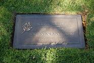 Eddie Albert grave at Westwood Village Memorial Park Cemetery in Brentwood, California