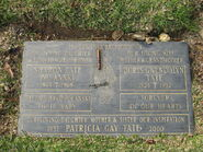Tate family grave