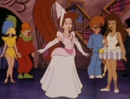 Nikki in fairy princess costume