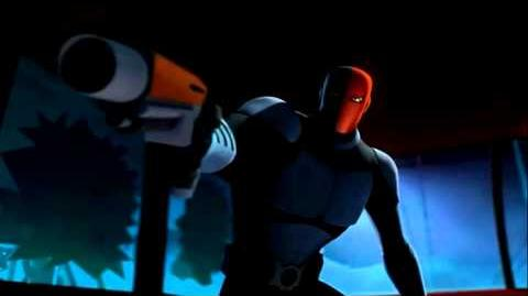 Batman vs Deathstroke -Beware the Batman