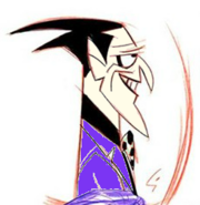 Joker BWTB Concept Art 1 Colored