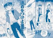 Ginga and Ryuuga work together