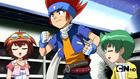 Gingka arguing with Masamune