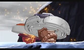 Dark Gasher destroys Storm Leone