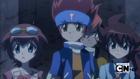 Madoka, Gingka and Yuki