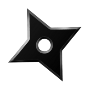 Ninja star dock icon K ninja by piepiepie12345667890