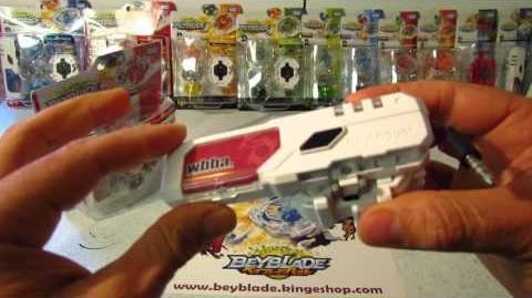 Vidéo de déballage de la toupie Beyblade Burst B-02 DX Starter Spriggan Spread Fusion