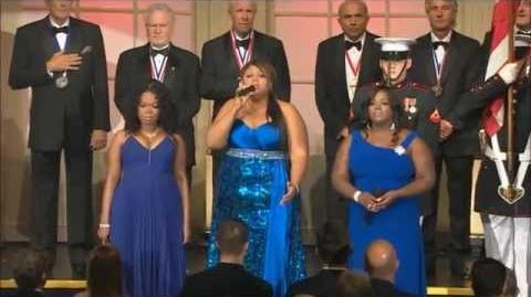 The Mamas National Anthem HD( Beyonce's Background Singers)