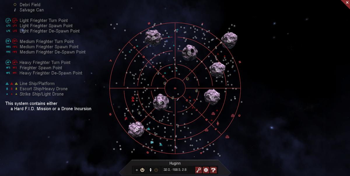 Huginn 3D System Map