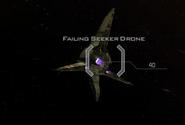 Failing seeker drone