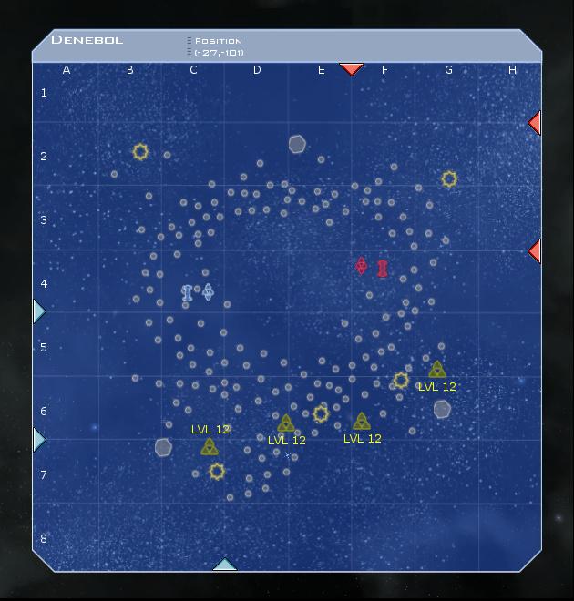 Denebol System Map