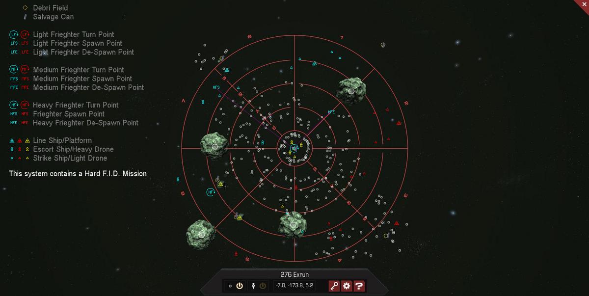 276 Exrun 3D System Map