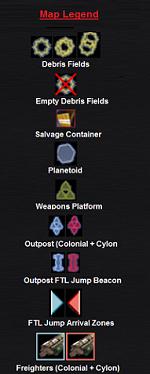 System Map Legend