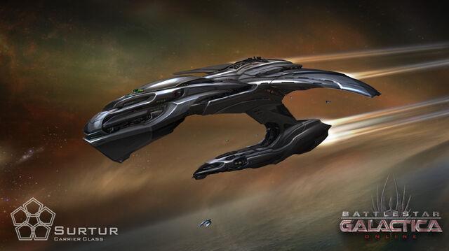 File:Battlestar galactica cylon carrier surtur.jpg