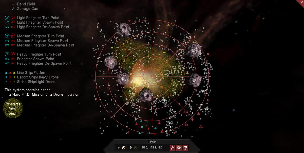 Hatir 3D System Map