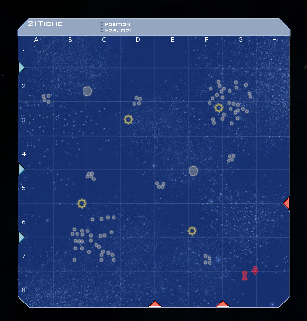 21 Tiche System Map