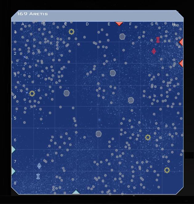 169 Aretis System Map