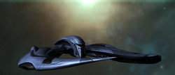 Cylon Raider In Flight Image 2