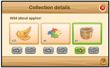 Wild about Apples colections level 0