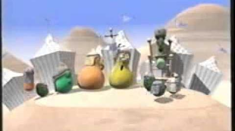 Veggie Tales Josh And The Giant Pickle Trailer