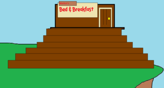 Marten's Bed and Breakfast at Daytime
