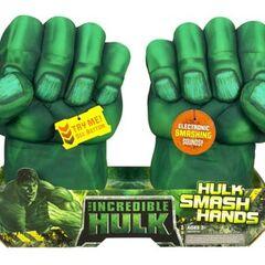 Incredible Hulk Hands.