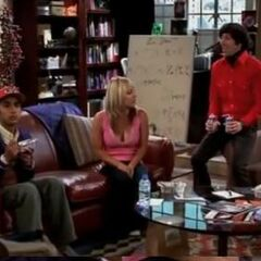 Raj, Howard and Penny getting to know each other.