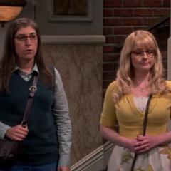 Amy runs into Sheldon unexpectantly.