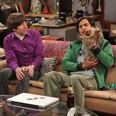 Howard finds Raj's treatment of his dog freaky.