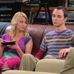 Sheldon is not happy.