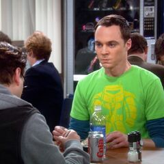 Sheldon frustrated that Leonard will not answer the phone call from Stuart.