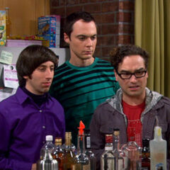 Everyone is shocked that Raj is talking to Penny.