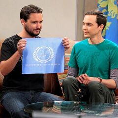 Star Trek episode with guest star Wil Wheaton.