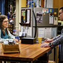 Amy learning how she changed Sheldon.