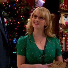 Bernadette impressed by Sheldon's love for Amy.