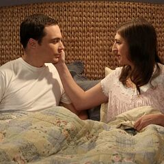 Sheldon and Amy - Two nerds in love.