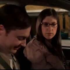 Amy is appalled by Sheldon's plan to continue gaming at her aunt's party.