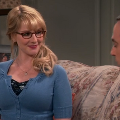 Bernadette honored that Sheldon wants to talk to her - though she was #7 on his list.