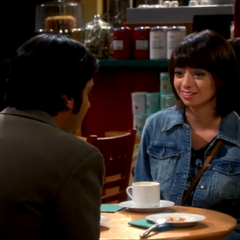 Lucy asks to see Raj.