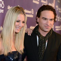 Kaley and Johnny.
