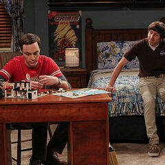 Howard helping Sheldon through what he saw.