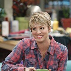 Penny with short hair - season 8.