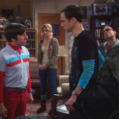 Sheldon leaving Pasadena.