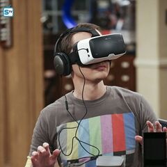 Sheldon in the virtual woods.