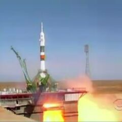 The launch of Expedition 31.