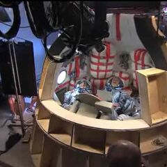 Soyuz capsule set.