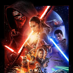Star Wars The Force Awakens Theatrical Poster.