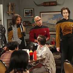 Reaction to the tired <i>Star Trek</i> enthusiasts.